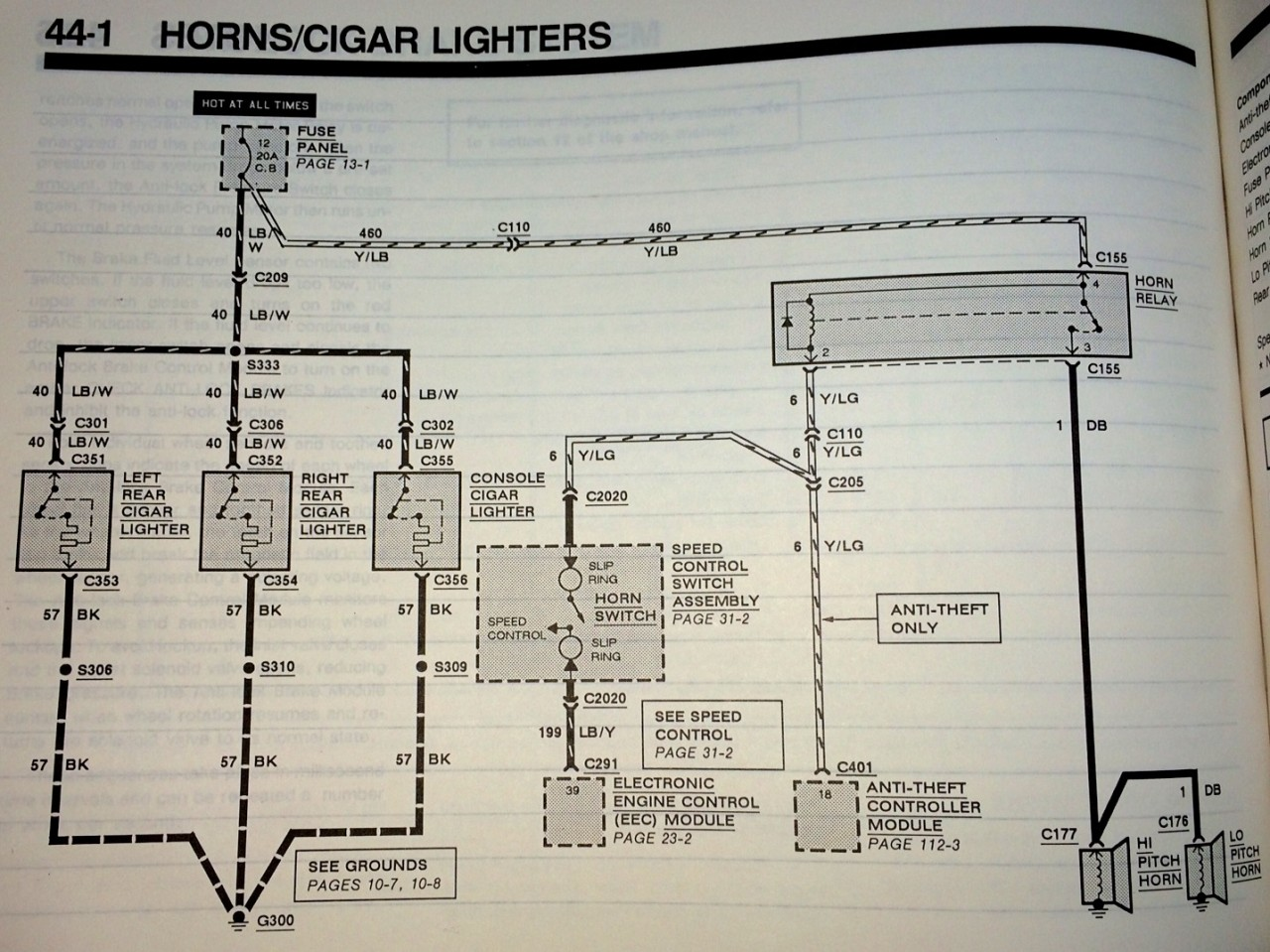 The Lincoln Mark Vii Club View Topic Fog Light Mystery Iii Wiring Diagram Here Is A Link To Larger Version Of