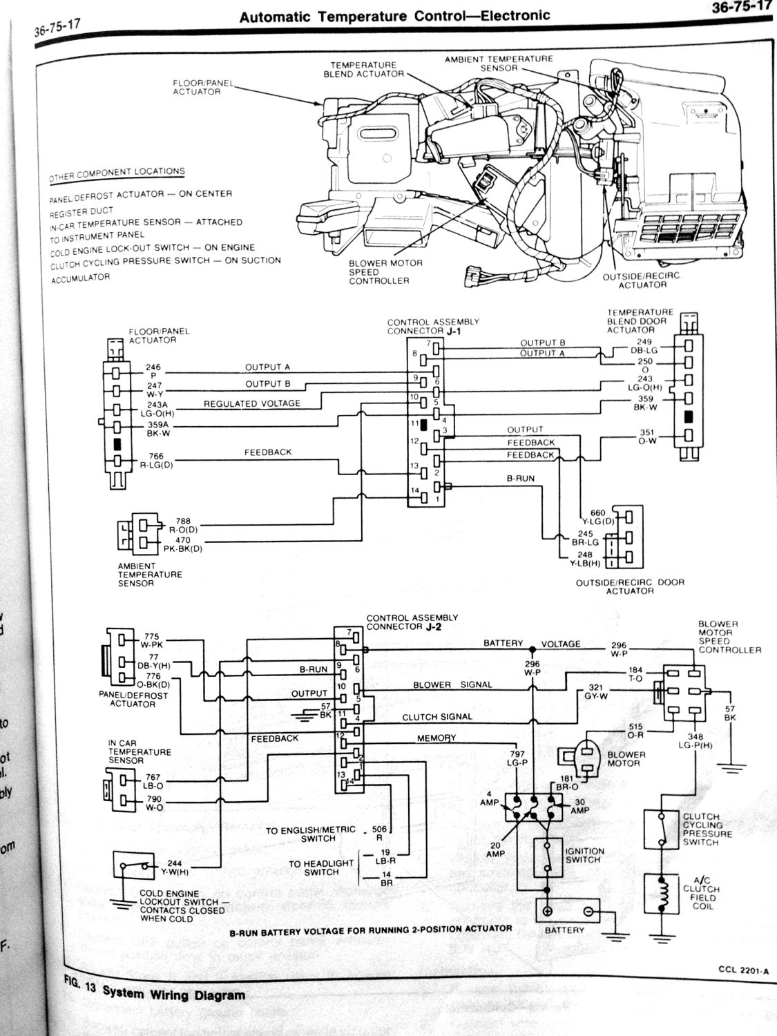 service manual  1984 lincoln mark vii valve wiring