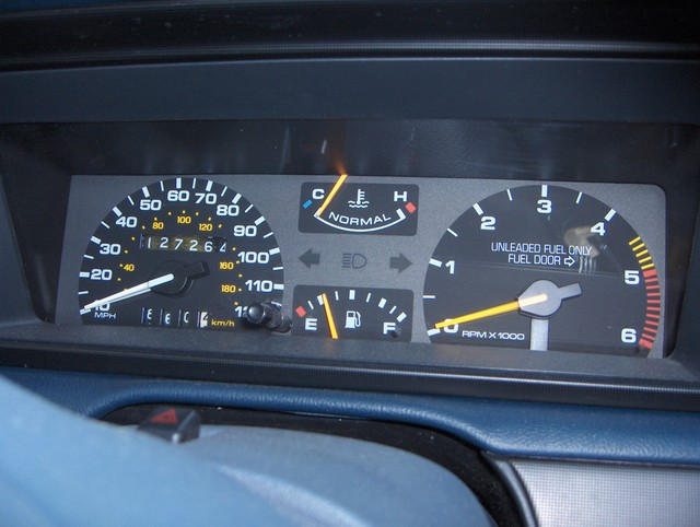 The Lincoln Mark Vii Club View Topic Instrument Cluster